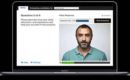 Talntly Digital Interview Platform
