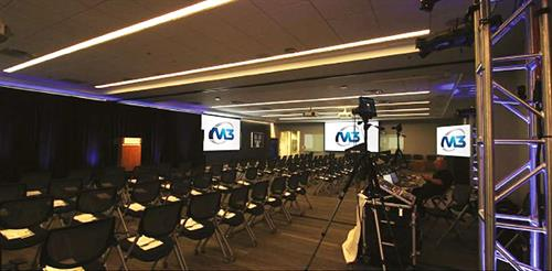 M3's staff of expert video and film professionals take the worry (and the mystery) out of live event planning and staging.