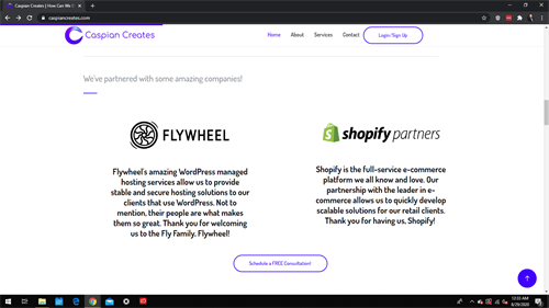 We are Flywheel and Shopify Agency Partners!
