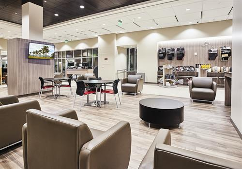 Kendall Toyota Service Waiting Area