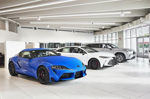 Kendall Toyota Showroom