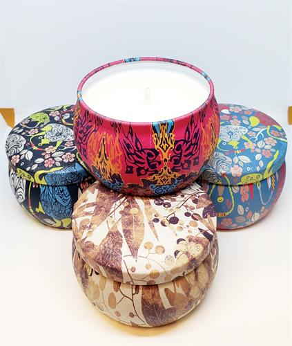 Candle Tins (Eco Friendly Soy Wax)