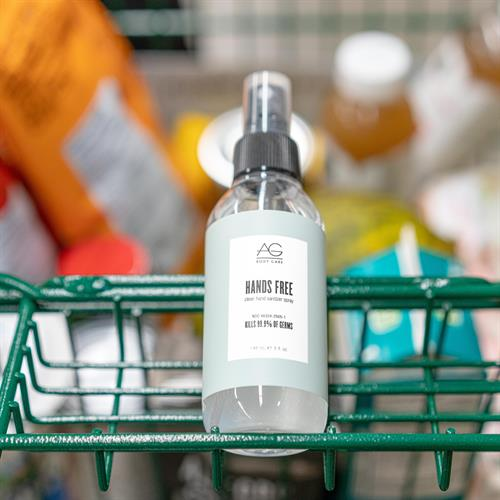 AG Hands Free hand sanitizer spray