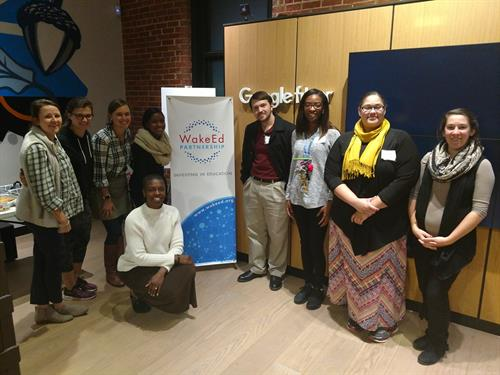 WakeEd's Beginning Teacher Leadership Network is a teacher-led young professionals network created to support educators in their first few years of teaching.