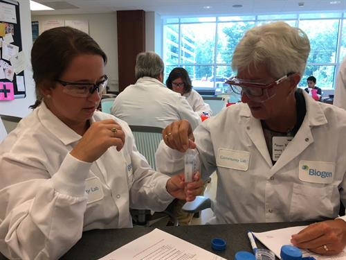 Each year, WakeEd'a SummerSTEM program embeds 100 Wake County educators in STEM companies across the Triangle.