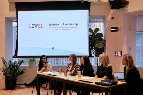 Our Women in Leadership panel in NYC.