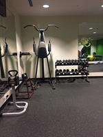 Part of workout room