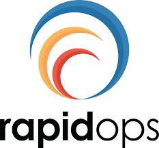 RapidOps logo stack