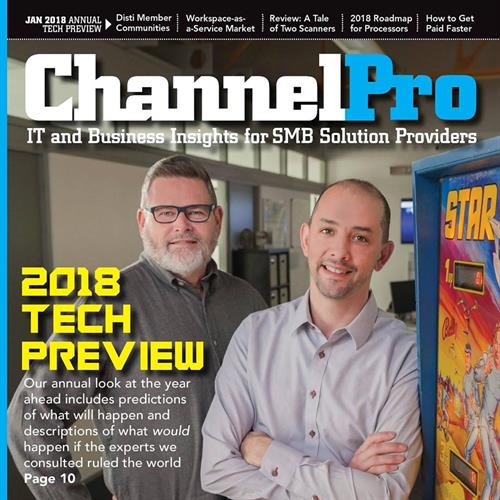 Cover Photo for ChannelPro Magazine 2018