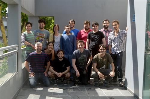 Our rockstar developers at our headquarters in Montevideo, Uruguay.