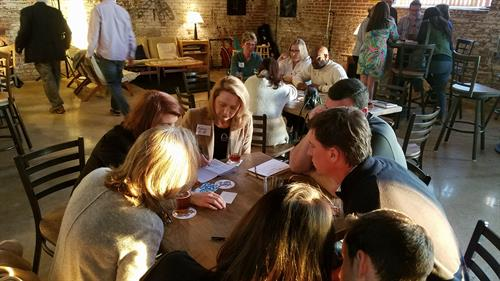 Brainstorming at a Gig East Meetup: Cultivating Entrepreneurs