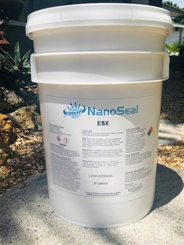 6-Gal bucket of Solvent-Based NanoSeal. Call for pricing inquiries!