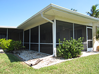 Lanai Screen Enclosures, Seamless Gutters, Engineering, Permits, Inspections