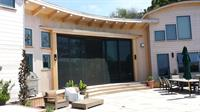 Super screen over pocket sliding doors for insect protection
