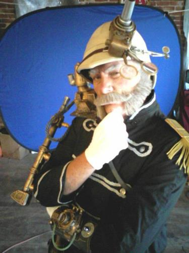 Steampunk Character for Salem MA attraction