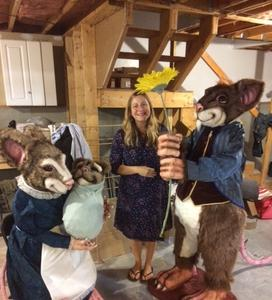 Human sized mice figures for Canobie Lake Park