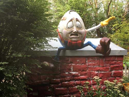 Humpty Dumpty installed