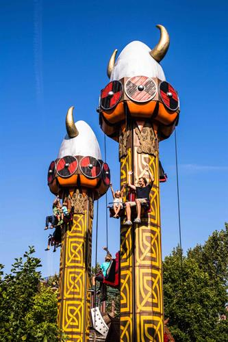 Sunkid Tower - highly unique and interactive family ride.