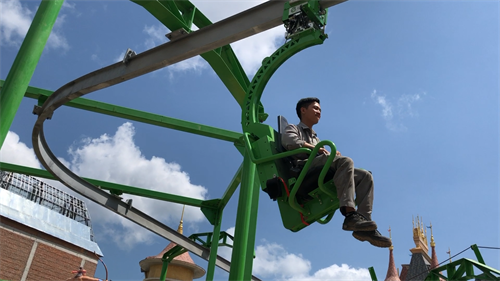 Cloud Coaster at Vinpearl Land in Vietnam