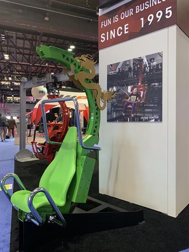 Cloud Coaster Ride Vehicle