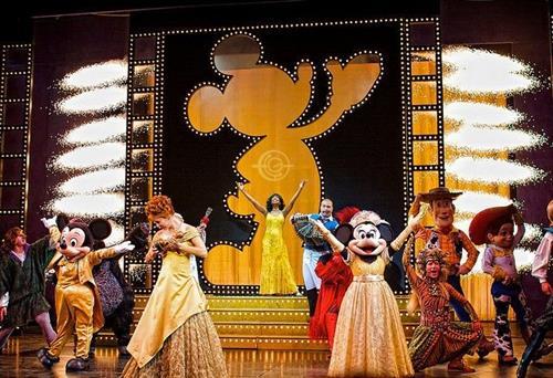 Disney Cruise line show sets