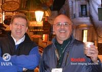 John Guertin and Bob Lawrence at a NEAAPA event