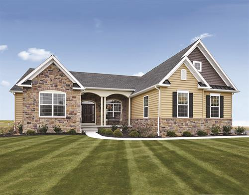 Kristin Model Home - Choose this floor plan and customize it!