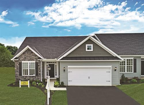 Cherry Tree 55+ Community Villa Model in Hanover, PA