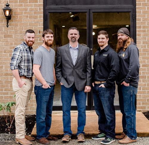 Owner Steve Kohr and his four sons, Micah, Adam, Zach and Dan.