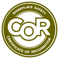 COR Certified in Alberta