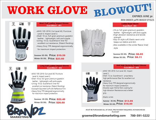 Work Glove BLOWOUT