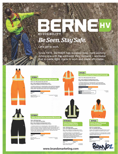 BERNE safety apparel