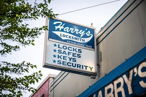 Harry's Locksmith shop located in Vancouver, Washington. Our friendly, knowledgeable staff will provide the service you want and deserve.