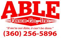 Able Fence Co., Inc.