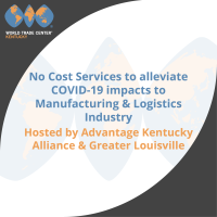 No-Cost services to alleviate COVID 19 Impacts on Manufacturing & Logistics industry