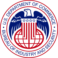 "Bureau of Industry & Security Certification- ""Complying with US Export Controls"""