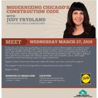 New Chicago Building Codes Forum with Commissioner Judy Frydland