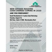 New Chicago Building Codes Workshop