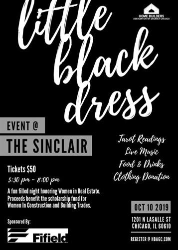 Little Black Dress Event Flyer