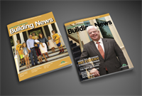 Greater Chicago Building News designed and published by Brandit360