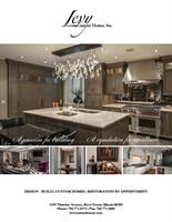 Levy Custom Homes Full Page Ad Design by Brandit360