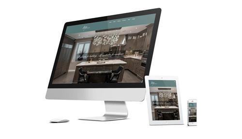 Levy Custom Homes Website Design