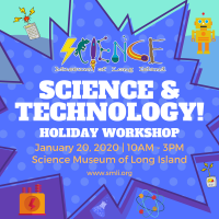 Holiday Program - 2019 - Jan 20 - Science and Technology
