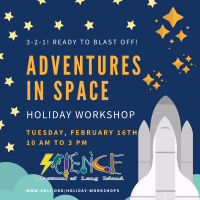 Holiday Program - 2021 - Feb 16 - Adventures in Space
