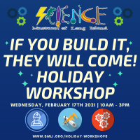 Holiday Program - 2021 - Feb 17 -  If you build it, they will come