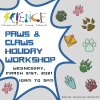 Holiday Program - 2021 - Mar 31 - Paws and Claws
