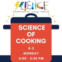 Afterschool Program Monday - Sept 2020 - Grades K-3 - Science of Cooking