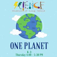 Afterschool Program Thursday - Feb 2020 - Grades K-3 - One Planet