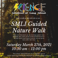 Guided Nature Walk Saturdays - 2021 - March