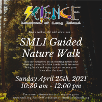 Guided Nature Walk Sunday - 2021 - April